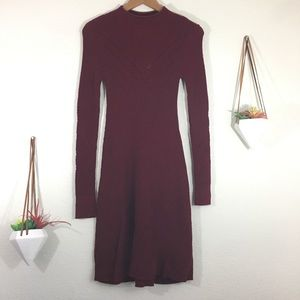 NEW American Eagle Outfitters mock neck knit dress